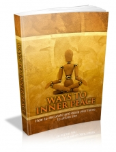 Ways To Inner Peace Private Label Rights