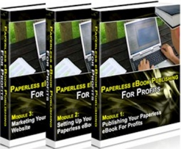 Paperless E-Book Publishing For Profits