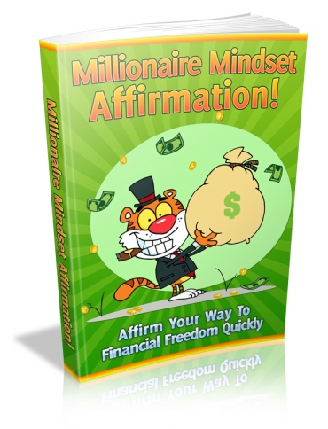 Millionaire Mindset Affirmation!