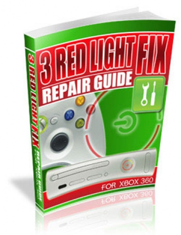 3 Red Light Fix Repair Guide For xBox 360