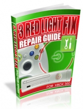 3 Red Light Fix Repair Guide For xBox 360 Private Label Rights
