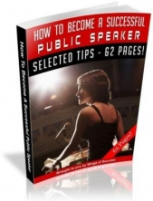 How To Become A Successful Public Speaker Private Label Rights