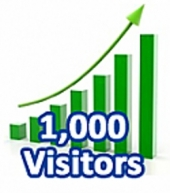 1,000 Visitors In One Month Private Label Rights