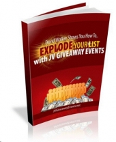 Explode Your List With JV Giveaway Events Private Label Rights