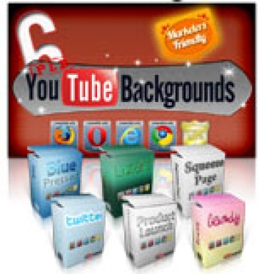 6 PLR YouTube Backgrounds