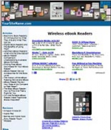 Wireless eBook Readers Website