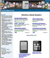 Wireless eBook Readers Website Private Label Rights