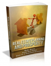 Real Estate Planning And Prosperity Private Label Rights