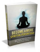 Become A More Spiritual Person Today Private Label Rights