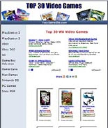 Games Website