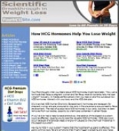 HCG Diet Website Private Label Rights