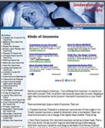 Insomnia Website