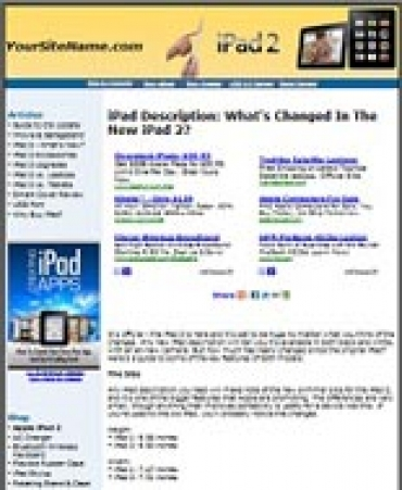 iPad 2 Website