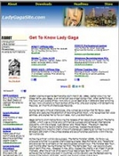 Lady Gaga Website Private Label Rights