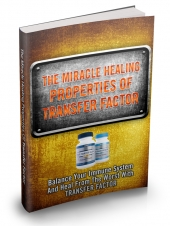 The Miracle Healing Properties Of Transfer Factor Private Label Rights