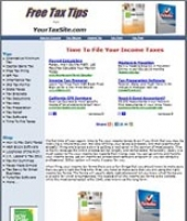 Taxes Website Private Label Rights