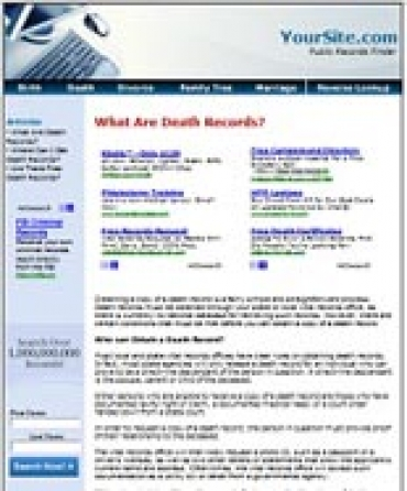 Public Records Website