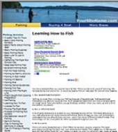 Fishing Website Private Label Rights
