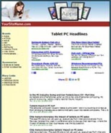 Tablets Website