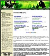 PaintBall Website Private Label Rights