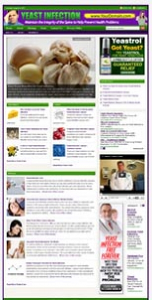 Yeast Infection Website
