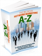 The Big Book Network Marketing A-Z Private Label Rights