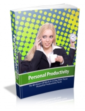 Personal Productivity Private Label Rights