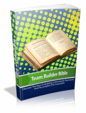 Team Builder Bible Private Label Rights