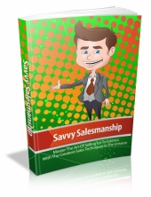 Savvy Salesmanship Private Label Rights