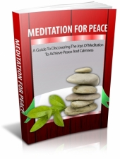 Meditation For Peace Private Label Rights