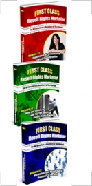 First Class Resell Rights Marketer : Triple Pack Private Label Rights