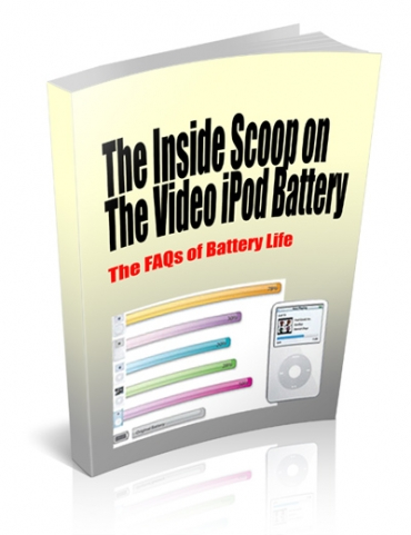 The Inside Scoop On The Video iPod Battery