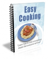 Easy Cooking Newsletter Private Label Rights