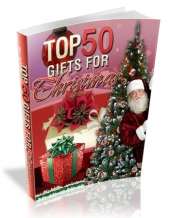 Top 50 Gifts For Christmas Private Label Rights