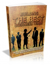 Building The Best Business Team Private Label Rights