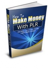 How To Make Money With PLR Private Label Rights