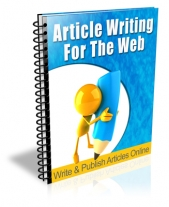 Article Writing For The Web Private Label Rights