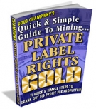 Private Label Rights Gold Private Label Rights