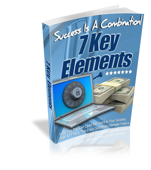 Success Is A Combination! 7 Key Elements