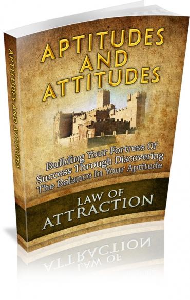 Aptitudes And Attitudes