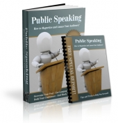 Public Speaking Private Label Rights