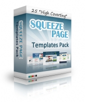 25 Squeeze Page Templates Private Label Rights
