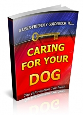 Caring For Your Dog Private Label Rights