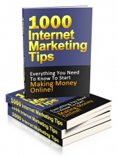 1000 Internet Marketing Tips Private Label Rights