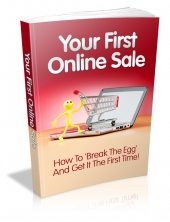Your First Online Sale Private Label Rights