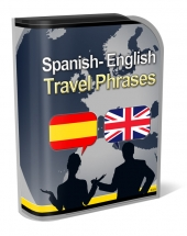 English Spanish Travel Phrases Private Label Rights