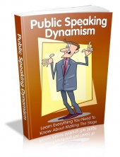 Public Speaking Dynamism Private Label Rights
