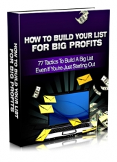 How To Build Your List For Big Profits Private Label Rights