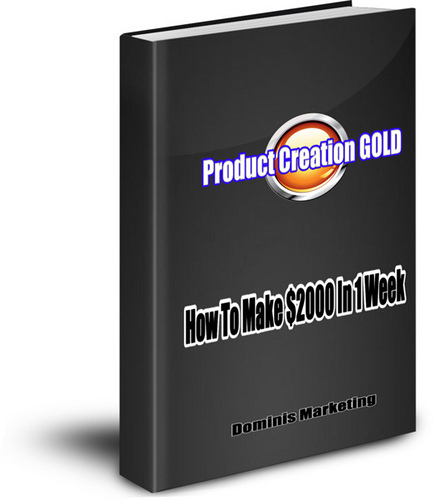 Product Creation Gold