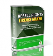 Resell Rights License Maker Private Label Rights